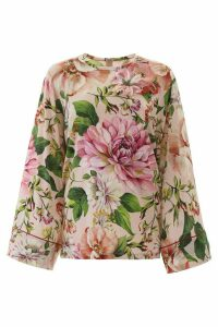 Dolce & Gabbana Floral-printed Blouse