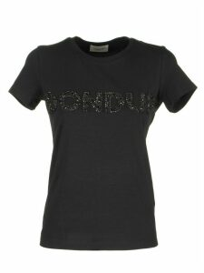 Dondup T-shirt With Jeweled Embroidery