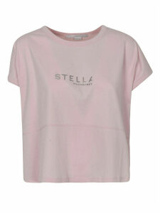 Stella McCartney Silver Logo T-shirt