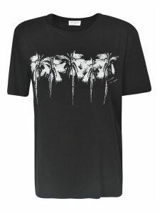 Saint Laurent Palm Tree Print T-shirt