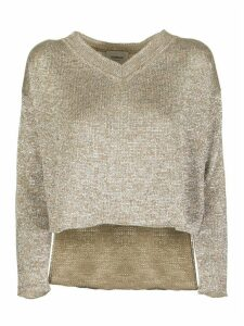 Dondup V-neck Viscose Sweater