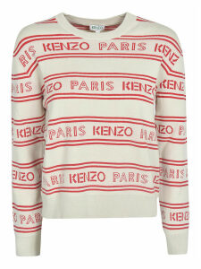 Kenzo Logo Stripe Panel Sweater