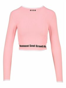 Msgm Cropped Top