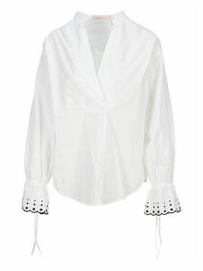 See By Chloe Flared Cuff Blouse