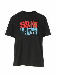 Saint Laurent T-shirt Col Rond Boy