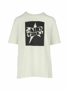 Saint Laurent T-shirt Col Rond Boy