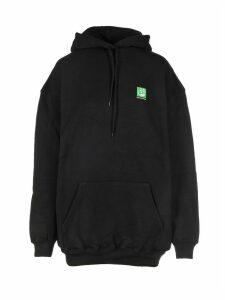 Balenciaga Green Logo Hoodie