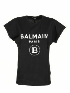 Balmain T-shirt Black/white