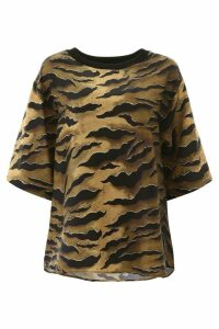 Dsquared2 Tiger Print Blouse