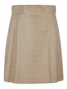 DROMe Back-zipped Skinned Skirt