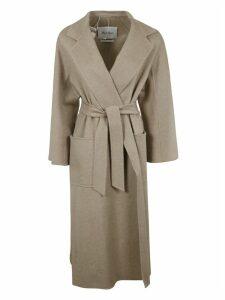 Max Mara Long-belted Coat