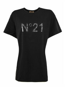 N.21 Black Jersey T-shirt