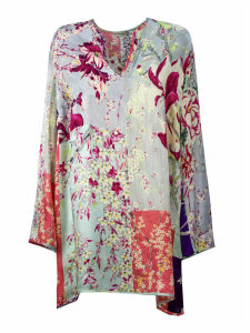 Etro Silk And Fabric Jacquard Blouse