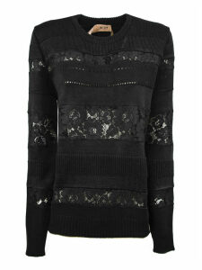 N.21 Black Wool-blend Sweater