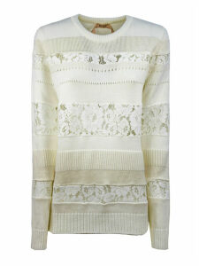 N.21 White Wool-blend Sweater