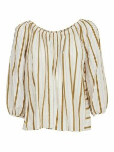 Forte Forte Golden Striped Shirt