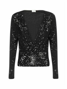 Saint Laurent Bluse Pailettes Shirt