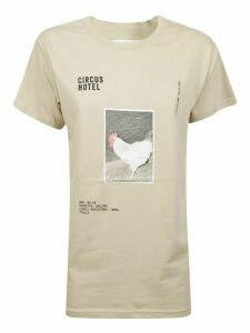 Graphic Chicken Print T-shirt