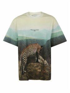 Graphic Leopard Print T-shirt