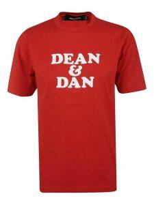Dean & Dan Printed T-shirt