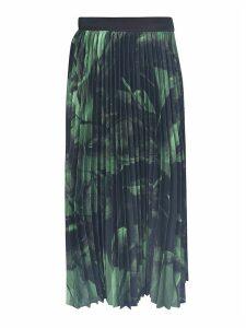 Off-White Greenbrush Stroke Skirt