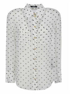 Balmain Polka Dot Loose Fit Shirt