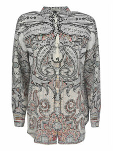 Etro Boyfit Fantasia Shirt