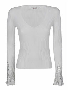 Ermanno Scervino Crystal Embellished Jumper