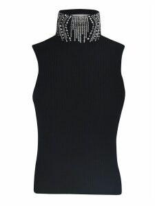 Ermanno Scervino Diamond Embellished Top