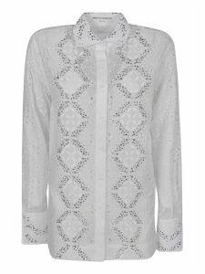 Ermanno Scervino Embellished Lace Shirt