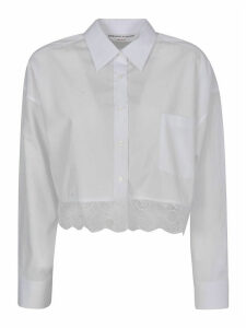 Ermanno Scervino Lace Cropped Shirt