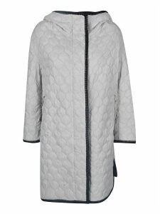 Ermanno Scervino Quilted Hooded Coat