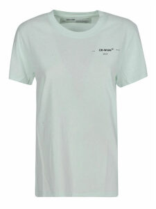 Off-White Corals Print Casual T-shirt