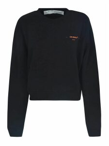 Off-White Corals Embroidered Sweatshirt