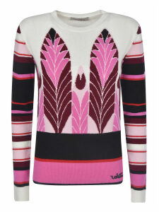 Valentino Slim-fit Striped Jumper