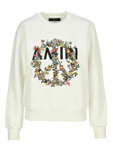 Amiri Peace Print Cotton Fleece