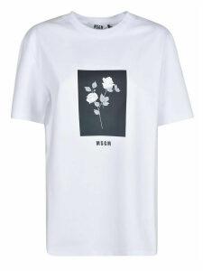 MSGM Rose Print T-shirt