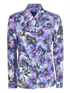 Dolce & Gabbana All-over Floral Printed Shirt