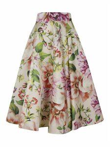 Dolce & Gabbana Floral Print Flared Skirt