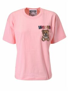Moschino Bear Embellished T-shirt