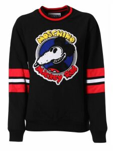 Moschino Mickey Rat Print Sweatshirt