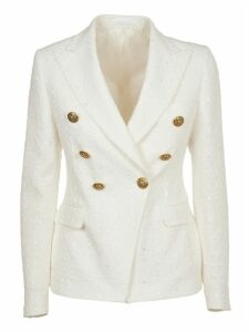 Tagliatore Whitedouble-breasted Jacket