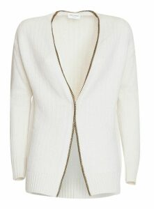 Saint Laurent Cardigan Whit Chain Trim