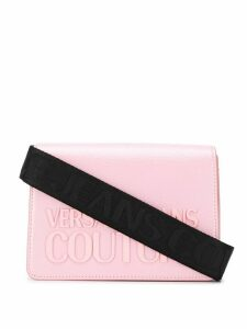 Versace Jeans Couture branded small shoulder bag - PINK