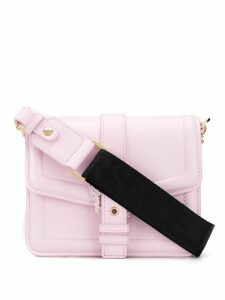 Versace Jeans Couture baroque buckle shoulder bag - PINK