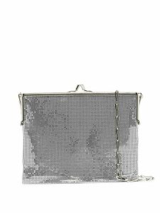 Paco Rabanne Frame 1969 chainmail shoulder bag - SILVER