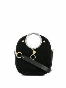 See by Chloé ring handle tote bag - Black