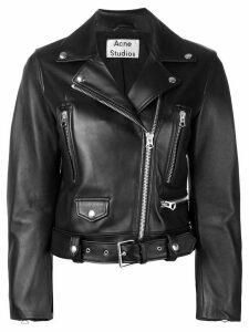 Acne Studios mock motorcycle jacket - Black