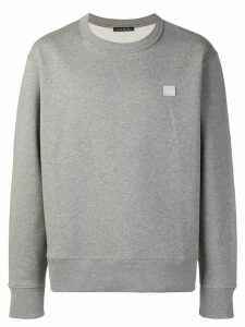 Acne Studios Fairview Face sweatshirt - Grey