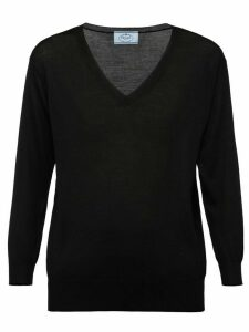 Prada V-neck sweater - Black